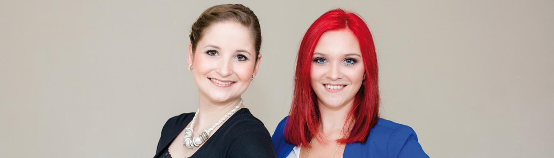 Nadine Tillmann und Sarah Temme